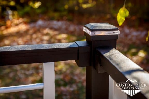Trex Signature Railing Post Cap Light