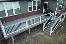 Trex Select Pebble Grey deck - Canton, Michigan