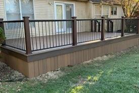 Belleville MI Trex Deck Builder