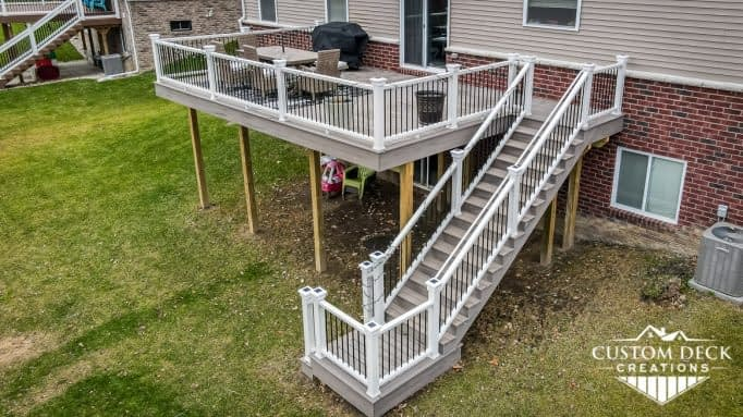 Trex Rocky Harbor 2nd Story Deck