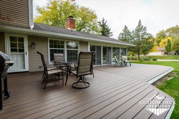 Multi-tier Backyard Deck