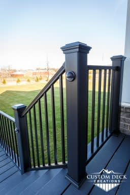 Trex Composite Railing with Lights