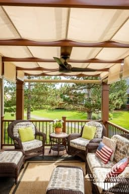 Tree House Pergola on Trex Composite Deck