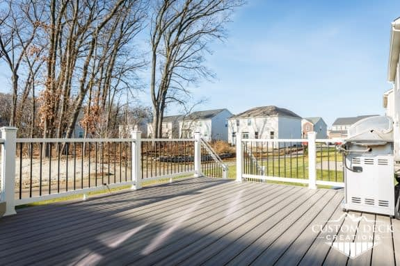 Trex deck Enhance Naturals Rocky Harbor