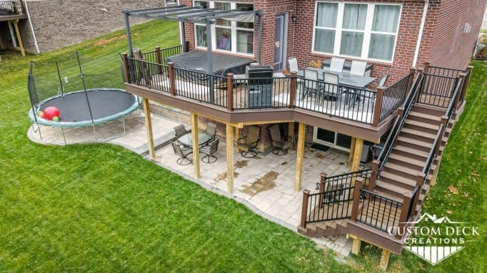 2nd Story Trex Composite Deck