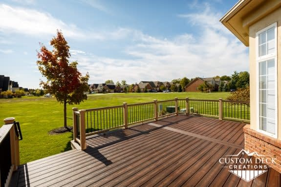 Maintenance Free Deck by Trex - Custom Deck Creations