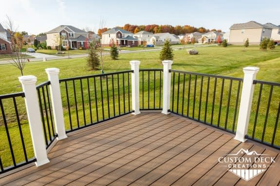Trex Signature Railing with Composite Posts